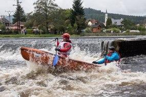 Krumlovský vodácký maraton 2016, foto Aleš Berka