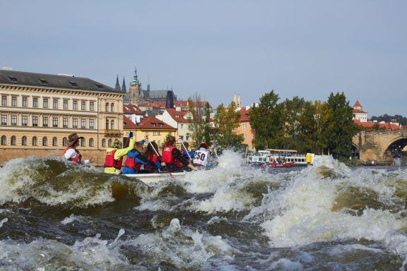 Tři jezy 2016, Praha